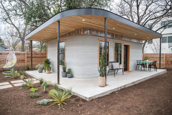 Icon 3-D-printed a 350-square-foot house in Austin last year.