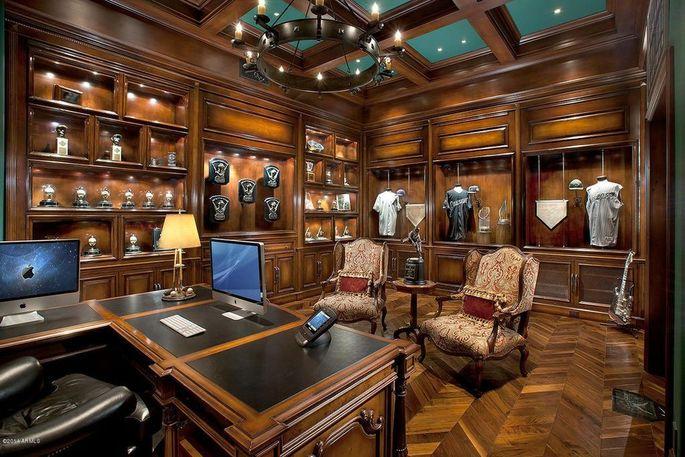 Showroom of Johnson's memorabilia