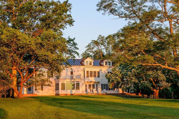 Christie Brinkley's waterfront home on Long Island, NY