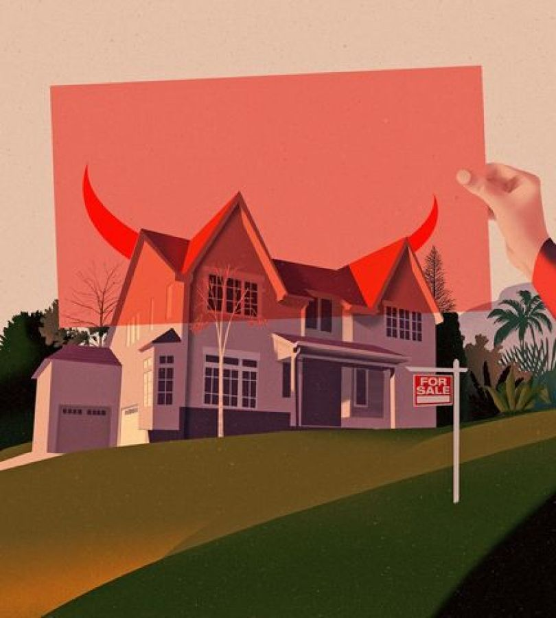 Third-party players may try to sabotage a home sale.