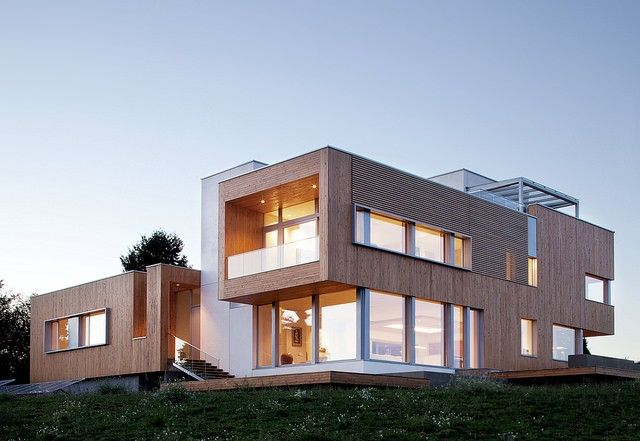 This house in Yamhill County, OR, has won green building awards.