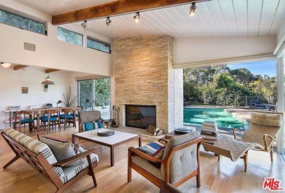 Ellen Page's midcentury modern home