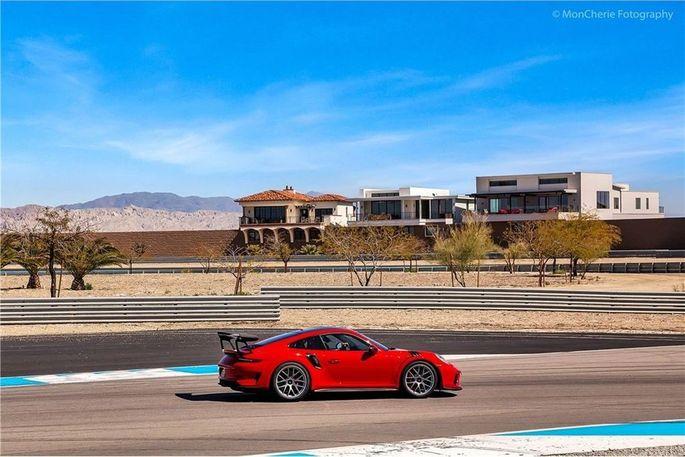 Racetrack right around the corner