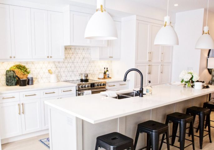 """This kitchen now has a """"fantry,"""" or """"fancy pantry."""""""