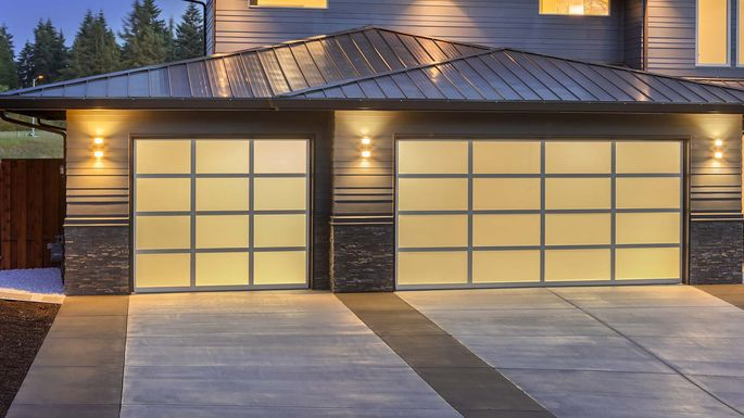 Fancy new garage doors could be a good investment depending on where you live.