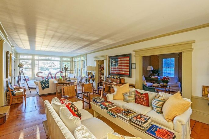 Interior of Christie Brinkley's home