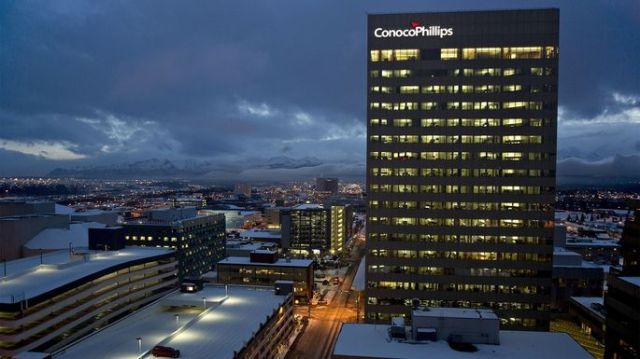 ConocoPhillips building in Anchorage, AK