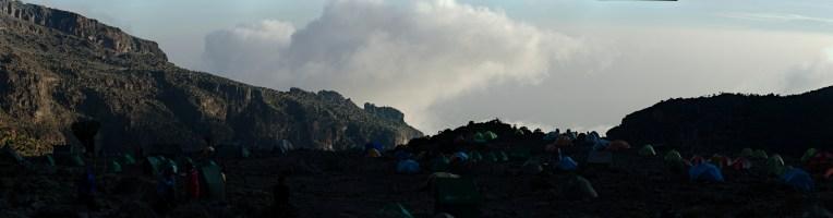 Kilimanjaro - panorama - 012 - Camp no 4