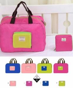 THINKTHENDO-Folding-Waterproof-Shopping-Bag-Reusable-Eco-Travel-Shoulder-Bag-Pouch-Tote-Handbag-4Colors