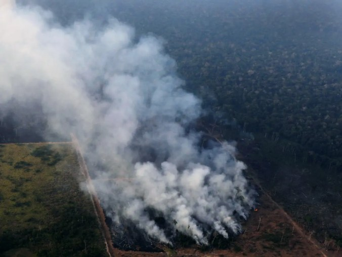Humans, More Than Drought, Are Fueling the Amazon's Flames