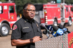 Pasadena Fire Chief, Bertal Washington