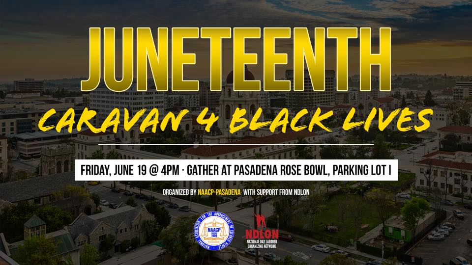 Juneteenth Caravan flyer