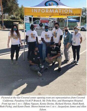 Covered California NAACP Volunteers