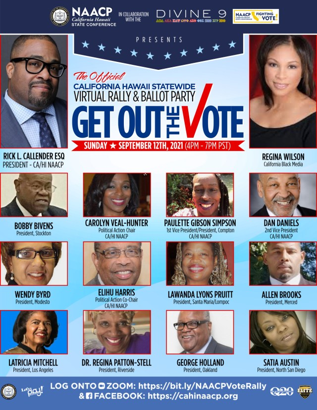 Get-Out-the-Vote Rally Flyer
