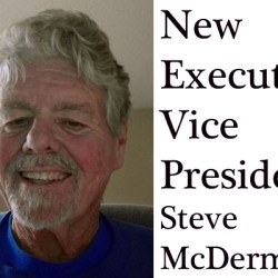 Steve McDermott is Our New Executive VP