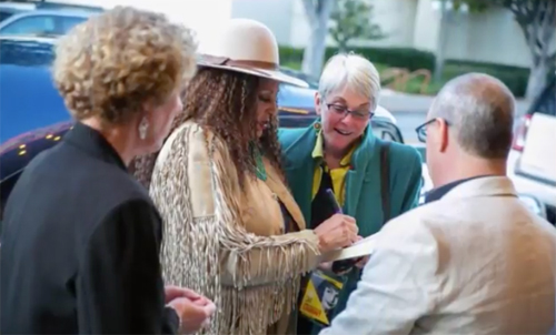 The NAACP Joins in Celebration of Pam Grier Receiving the King Vidor Award at the SLO Film Festival
