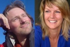 Inge Meilink en Eric Haas