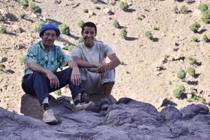 De kok Lachen en muildierdrijver Hamid