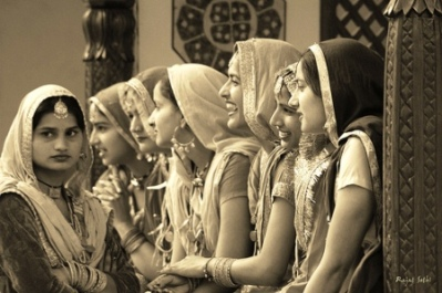 Traditional Indian women