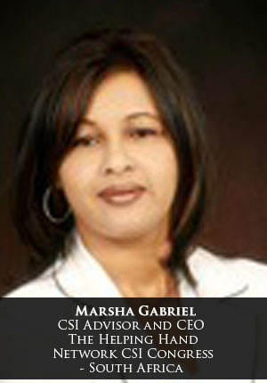 Marsha Gabriel, CEO, Helping Hand Network