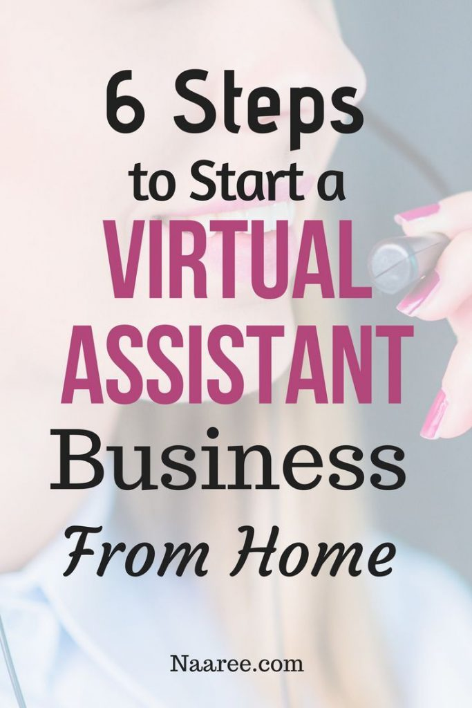 Start A Virtual Assistant Business From Home - A checklist and a virtual assistant guide to get you started.