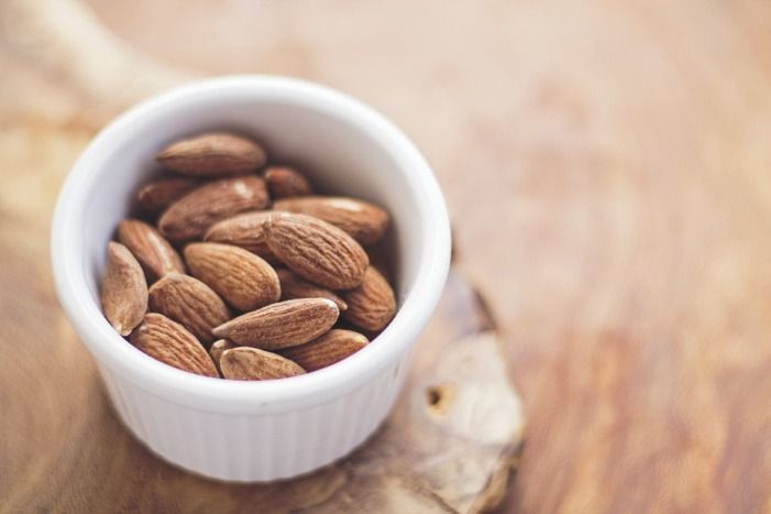Almonds for alkalization