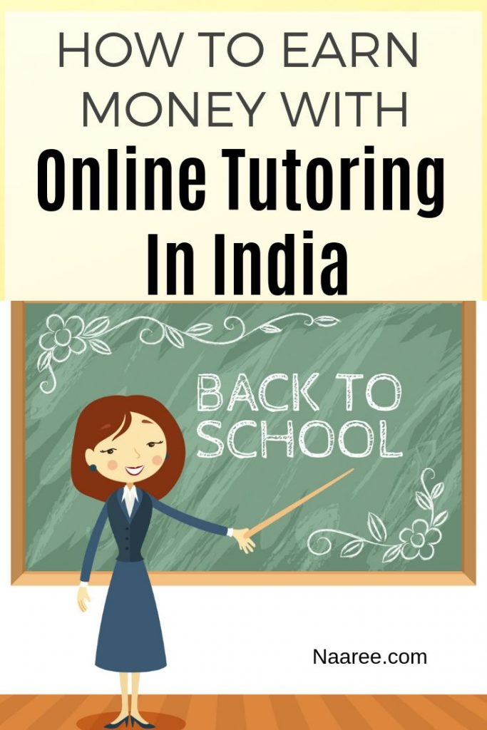 How To Earn Money With Online Tutoring In India