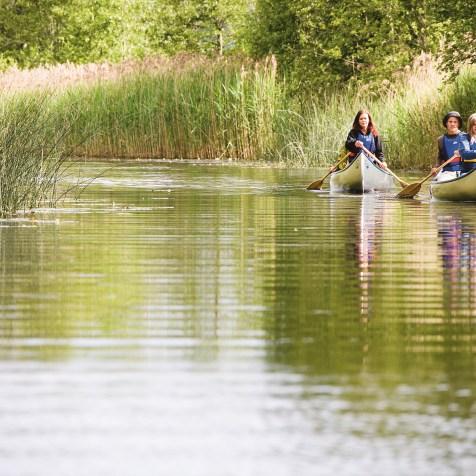 Kanot - Aktiviteter - Sävelången