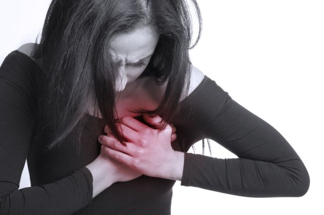 29408636 – girl with chest pain
