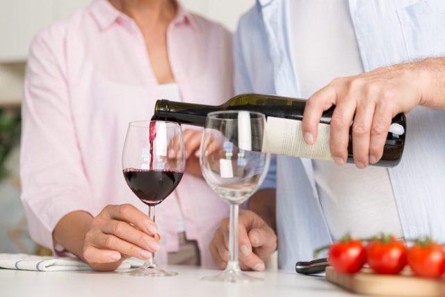 건전한 음주 – 와인
