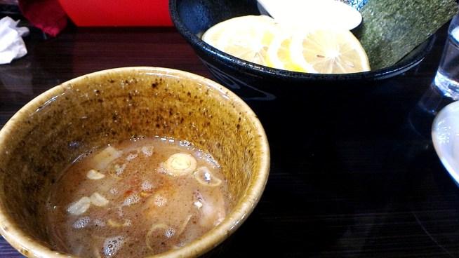レモンつけ麺