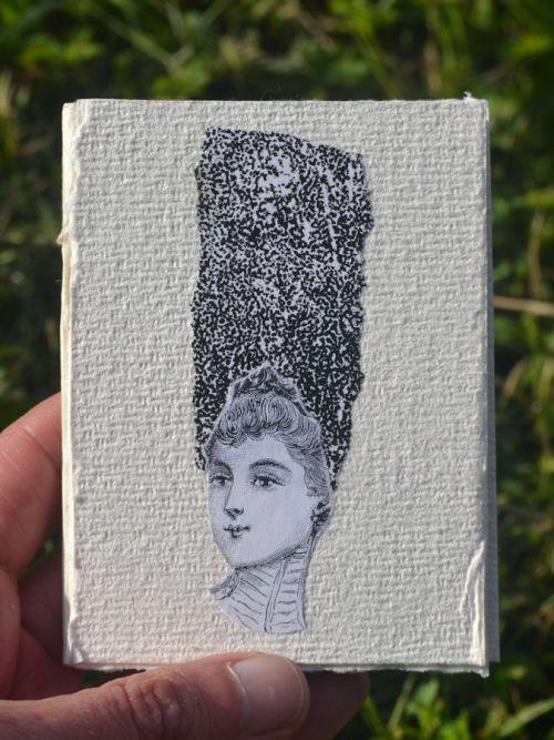livre artiste artist book miniature
