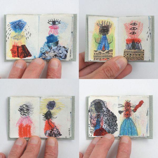livre d'artiste miniature