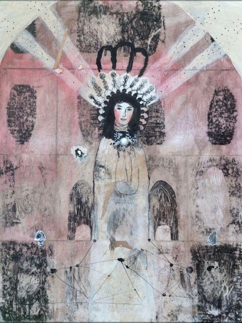 ange collage peinture rayons nabarus
