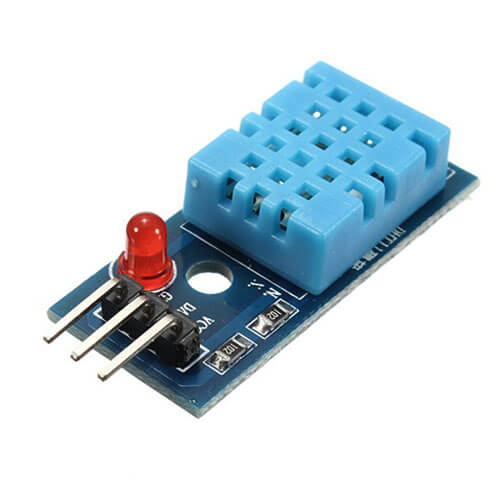 DHT11 Digital Temperature and Humidity Sensor, Arduino Weather Station