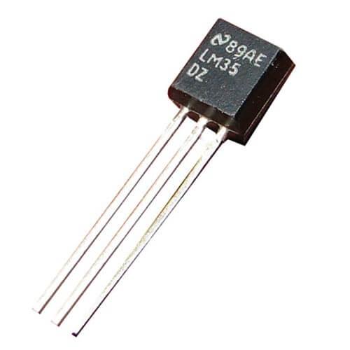 LM35 Temperature Sensor, Digital Thermometer