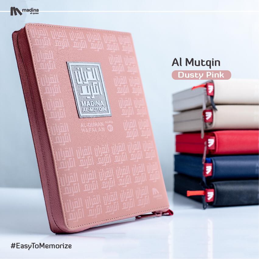 Al Mutqin A5 Dusty Pink