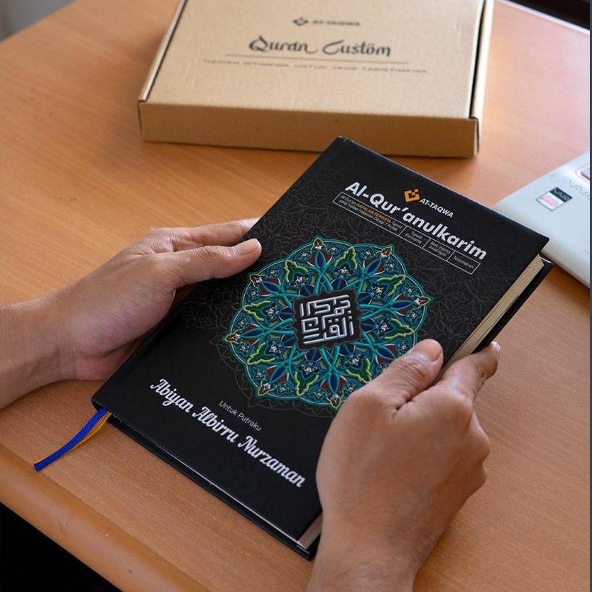 Al Quran Luxury Hitam Attaqwa