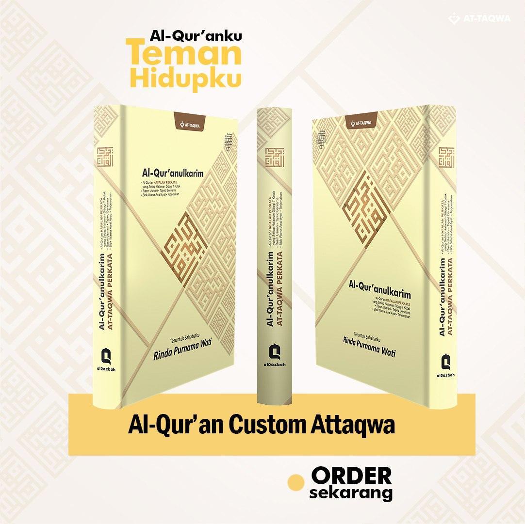 Al Quran Millenial Attaqwa Kuning