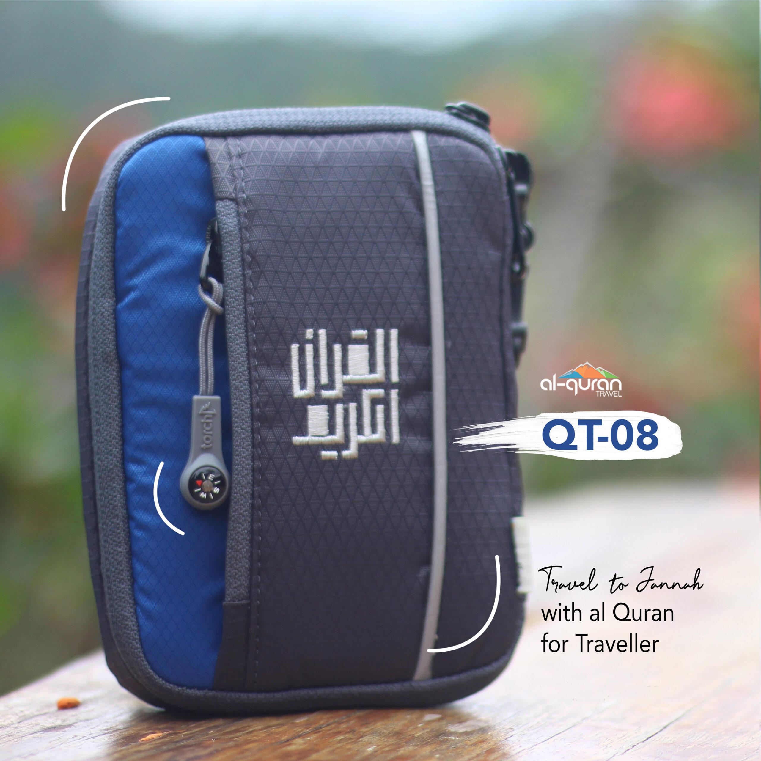 Al Quran Travel A6 Grey Blue