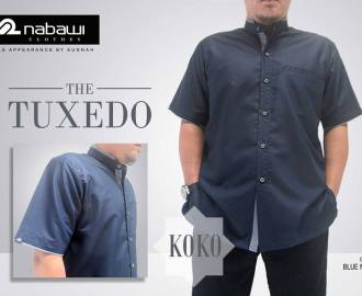 nabawi clothes koko tuxedo blue navy gray
