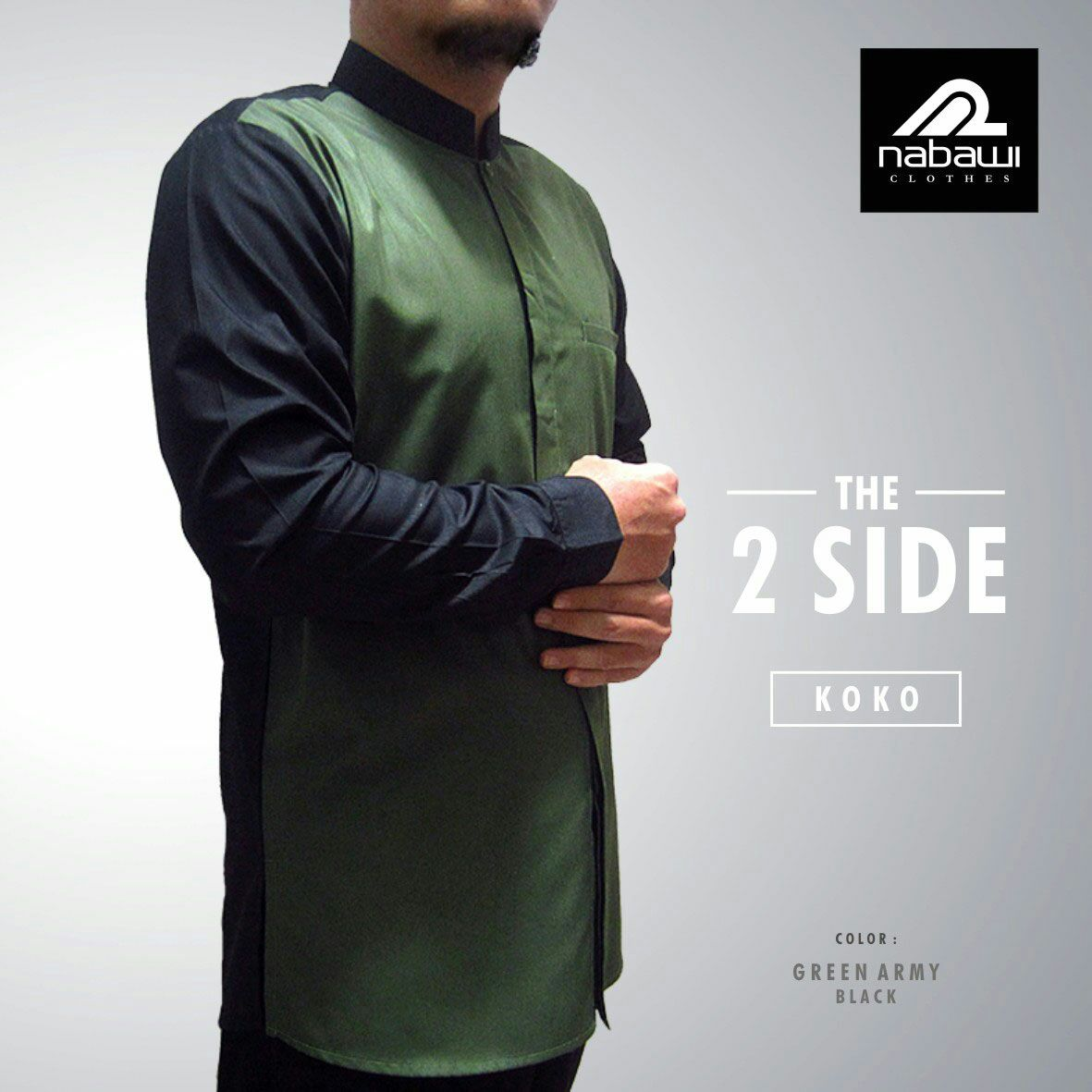 nabawiclothes-com-baju-koko-nabawi-the-2-side-green