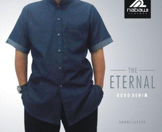 NabawiClothes - baju koko pria muslim nabawi trendi murah eternal lengan pendek