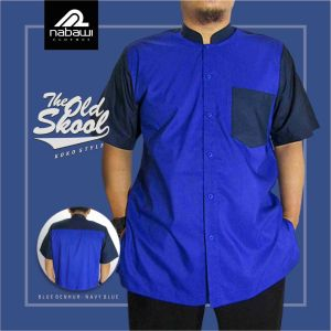Nabawi Clothes - baju koko old skool biru benhur