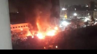 Photo of إخماد حريق بجوار مركب نيلية أمام ديوان محافظة القليوبية