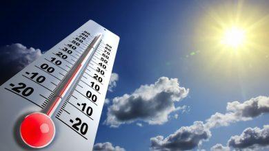 Photo of ارتفاع فى درجات الحرارة من يوم الاربعاء وانعدام سقوط امطار