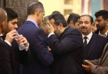 Photo of مجدي عبد الغني يبكي في أحضان جمال مبارك (صور)