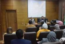 Photo of ورشة عمل الأمن والسلامة داخل المعامل للباحثين بجامعة بنها