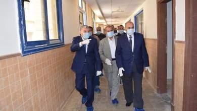 """Photo of """"القاضي """"و """"عبد النبي"""" يتفقدان مبني الاستقبال والطوارئ والكبد الجامعي الجديد"""