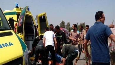 Photo of مصرع شخص صدمته سيارة أثناء عبور الطريق الزراعي بطوخ